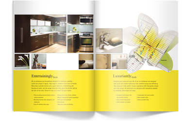 project sixthreenine fresh client iconic development industry real estate type sales brochure oversized 4 color